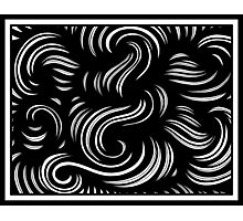 Storino Abstract Expression Black and White Photographic Print