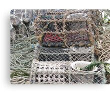 FISHERMAN'S BASKET Canvas Print