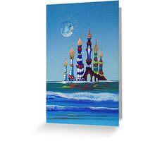 Water Castles Greeting Card