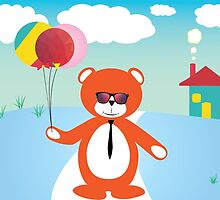 Fly Bear by parbo30