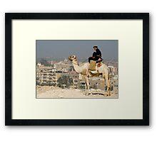 Giza Police Framed Print