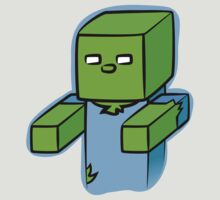 Minecraft Zombie (Hugs!) by Akyde
