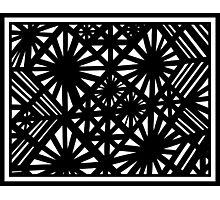 Zeccardi Abstract Expression Black and White Photographic Print