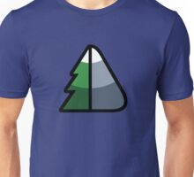 Forest and Mountain symbol Unisex T-Shirt