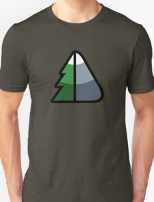 Forest and Mountain symbol T-Shirt