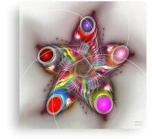 'Chroma Star' Canvas Print