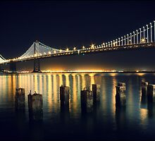 San Francisco Bay Bridge Illuminated by Jenn Ramirez