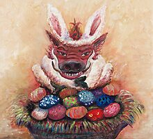 Easter Hog by Nadine Rippelmeyer