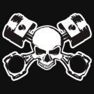 Skull and Crossed Pistons by shpshift