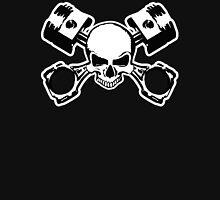 Skull and Crossed Pistons Unisex T-Shirt