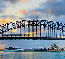 Spanning Sydney - Moods Of A City - The HDR Series by Philip Johnson