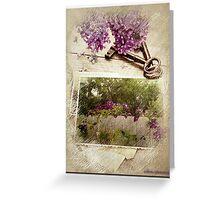 Keys to Springtime Greeting Card