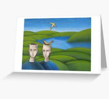 Bird Brains Greeting Card