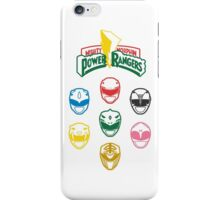 Mighty Morphin Power Rangers iPhone Case/Skin