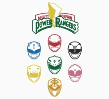 Mighty Morphin Power Rangers Kids Tee
