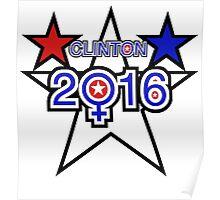 Clinton 2016 Poster
