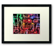 Robot Brain Framed Print