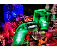 Robot Brain 2 Photographic Print