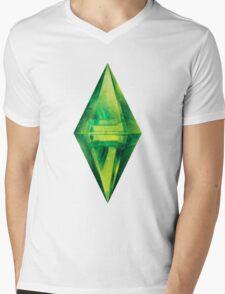 Sims: Space Mens V-Neck T-Shirt