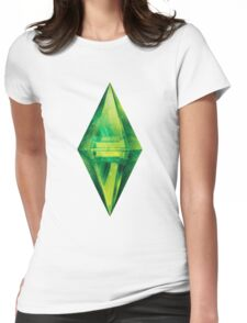 Sims: Space Womens Fitted T-Shirt