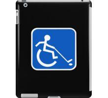 Wheelchair Power Hockey Symbol iPad Case/Skin