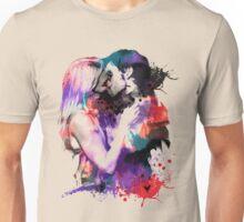 Watercolor Hook n Emma Unisex T-Shirt