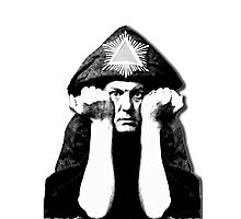 Aleister Crowley Photographic Print