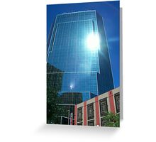 Reflections of Fort Worth Greeting Card