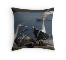 Mine this time Throw Pillow