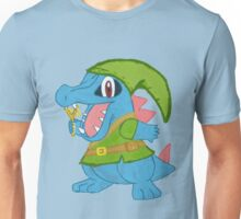 Totodile in Hyrule Unisex T-Shirt