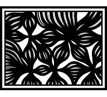 Liptow Abstract Expression Black and White Photographic Print