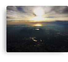 Over New Jersey Canvas Print
