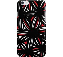 Mashni Abstract Expression Red White Black iPhone Case/Skin