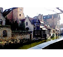 The Canals of Brugge Photographic Print