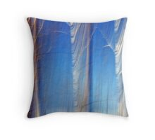 Ghosts of Winters Past Throw Pillow
