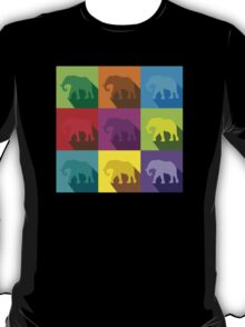 ELEPHANTS in many colours T-Shirt
