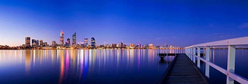 Perth City by Michael Bates