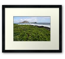 Manana and Kaohikaipu Islands Framed Print