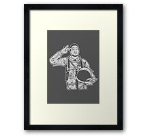 I'll be Up Up and Away Framed Print