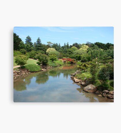 Joyous Japanese Gardens Canvas Print