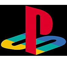 Vintage Playstation Logo Photographic Print