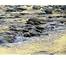 Mt. Zion National Park's River Bed Photographic Print