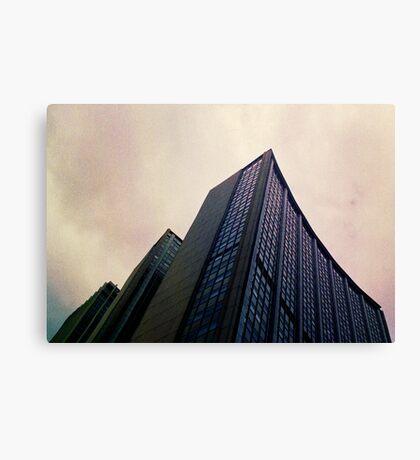 Big City Skyline........the pastel set  # three Canvas Print