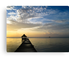 Morning Sea Canvas Print