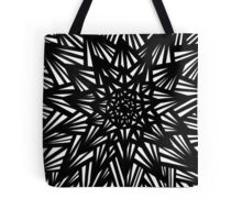 Blakeney Abstract Expression Black and White Tote Bag