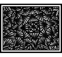 Carton Abstract Expression Black and White Photographic Print