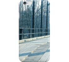 Just Passing Through, War Eagle Bridge iPhone Case/Skin