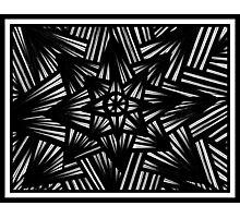 Sakaguchi Abstract Expression Black and White Photographic Print