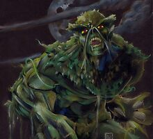 DC Comic's Swamp Thing by ARTofMistyrE
