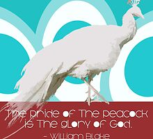Pride of the Peacock - William Blake by CanisPicta
